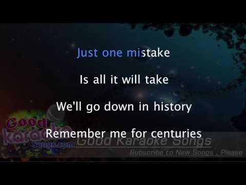 Centuries - Fall Out Boy ( Karaoke Lyrics )