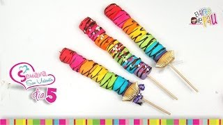 (Day 5) Marshmallows Lollipops Valentine's Day / (Día 5) Paletas de Malvaviscos San Valentín Thumbnail