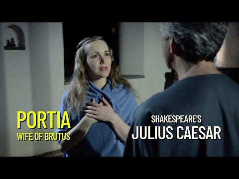 Julius Caesar 2014 Interview 1:  Lynn Edmonstone as Portia