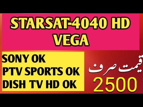STARSAT 4040-HD VEGA FOR SONY NETWORK