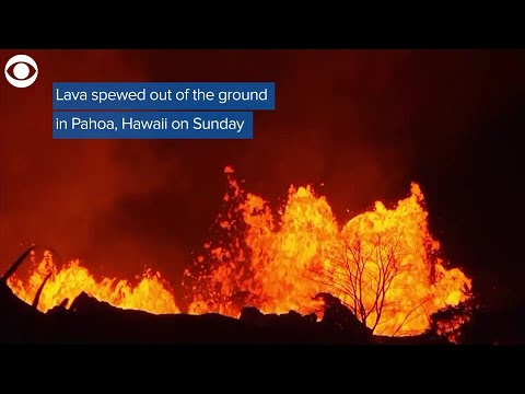 Lava Hits Pacific Ocean, Creates Dangerous Cloud