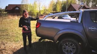 Обзор и тест-драйв Мицубиси/Mitsubishi L 200. Лиса Рулит.