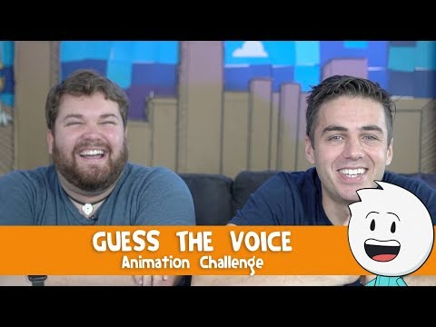 Guess The Voice - Animation Challenge With Brian Hull