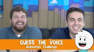 Guess The Voice - Animation Challenge With Brian Hull by : itsAlexClark