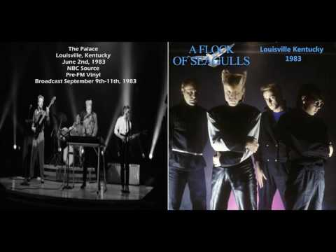 A Flock Of Seagulls live At Louisville, KY 1983/06/02 (Audio)