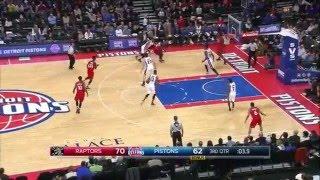 NBA Самый дальний бросок за последние 9 лет! Детройт - Драммонд!