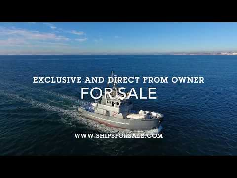 Shipsforsale Sweden Fantastic ice breaking tug, converted yacht Astra with stabilizers.