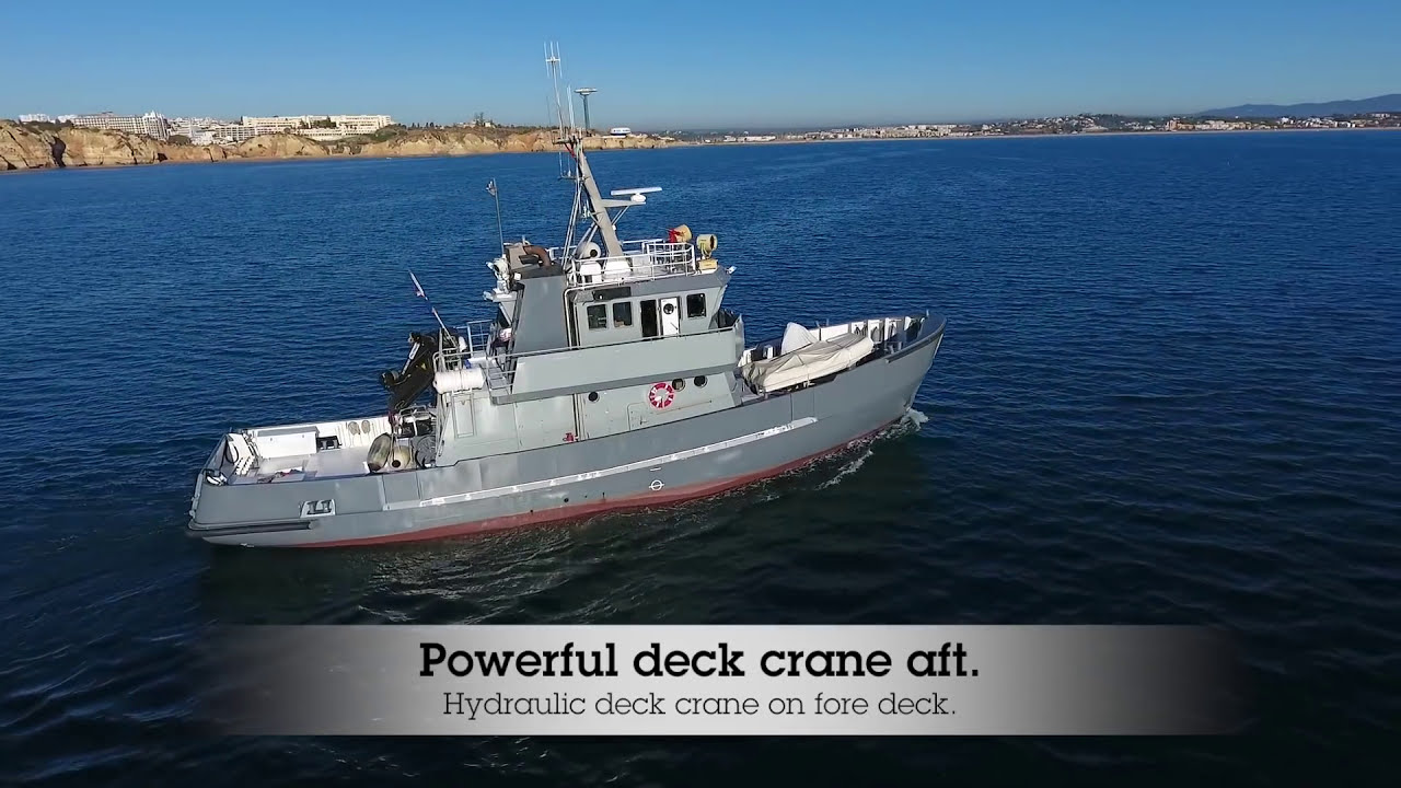 Shipsforsale Sweden Fantastic Ice Breaking Tug, Converted Yacht Astra With  Stabilizers   Shipsforsale Sweden 04:28 HD