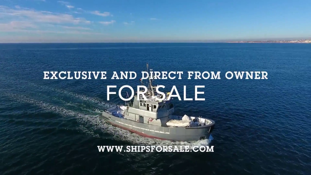 Shipsforsale Sweden Fantastic ice breaking tug, converted yacht Astra with  stabilizers