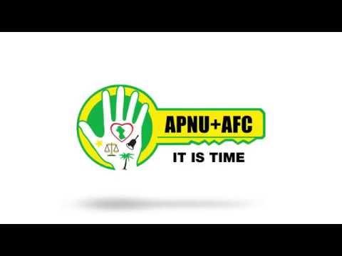 It is time! #APNUAFC #itistime