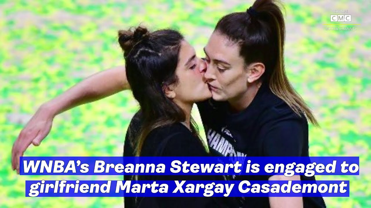 'She said YES': WNBA star Breanna Stewart proposes to girlfriend