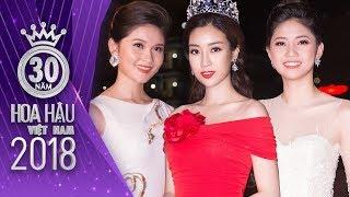 Hoa hậu Đỗ Mỹ Linh khoe sắc cùng Á hậu Thanh Tú và Á hậu Thùy Dung trong Chung Khảo Phía Bắc
