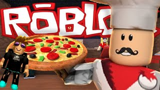 BACK ROBLOX ON THE CHANNEL!? PLAYING IN THE PIZZERIA! 😱