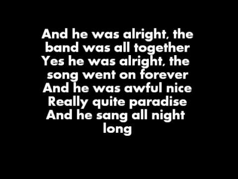 David Bowie - Lady Stardust - Lyrics