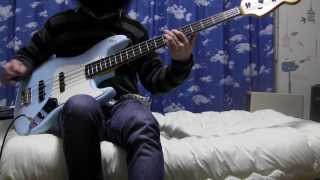 STRAIGHTENER - A LONG WAY TO NOWHERE【Bass Cover】