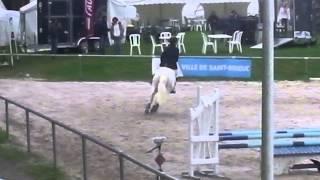 CSO - Championnats de Bretagne CSO 2013 - Etienne et Lorraine - Jour 1 - Dinard Emeraude Equitation