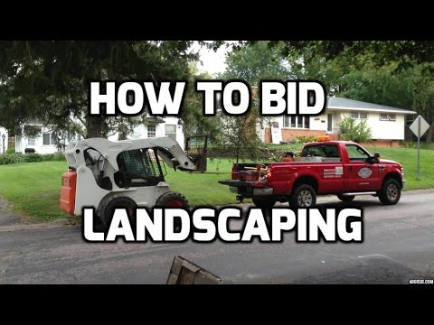 How to Bid Landscaping