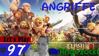 Let's Play Clash of Clans #97★ Angriffe, auf dem Weg zum King Lvl 5! ★COC [Android, HD+, deutsch]
