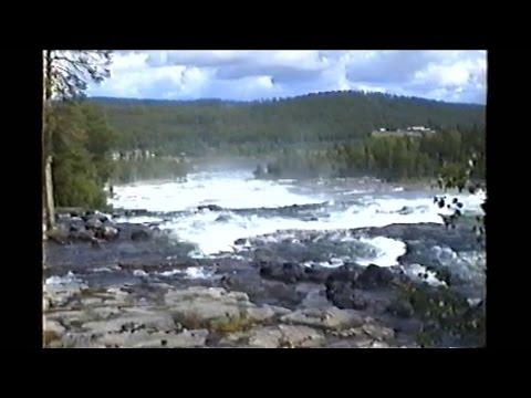 Storforsen, Pite River in Swedish Norrbottens län Älvsbyn