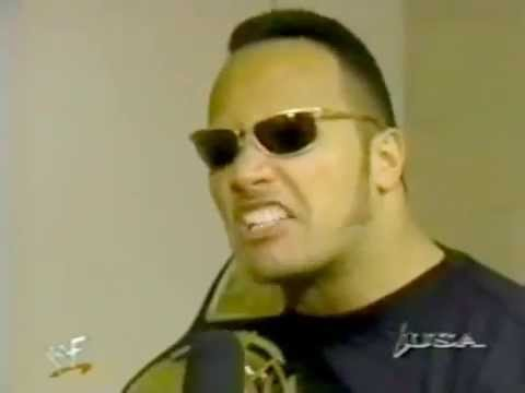 The Rock Classic Funny Interview on Heat before WrestleMania XV (15)