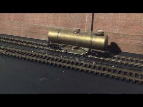 Model Railway Track Cleaning