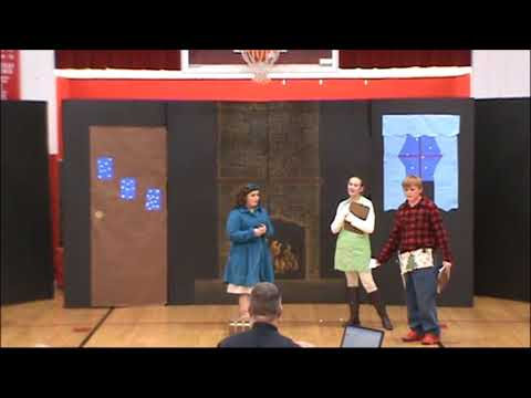 LeGrande Elementary School Christmas Program 2017:  Nanny Claus, The North Pole Nanny