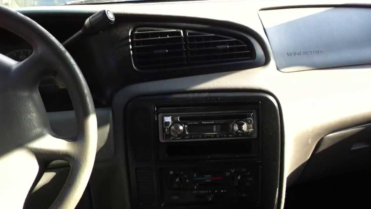 Ford windstar 2001 interior