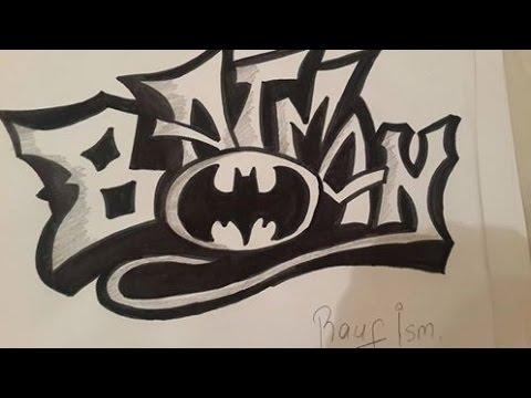 Graffiti #1- Batman Cizimi