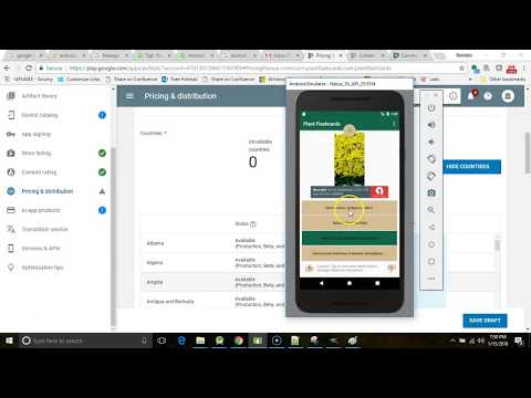 Create and Deploy an Android app on the Google Play Store