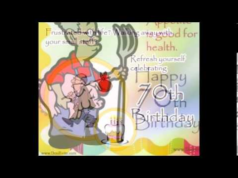 70th Birthday Greetings card/E-card/Egreetings/Wishes for Parents