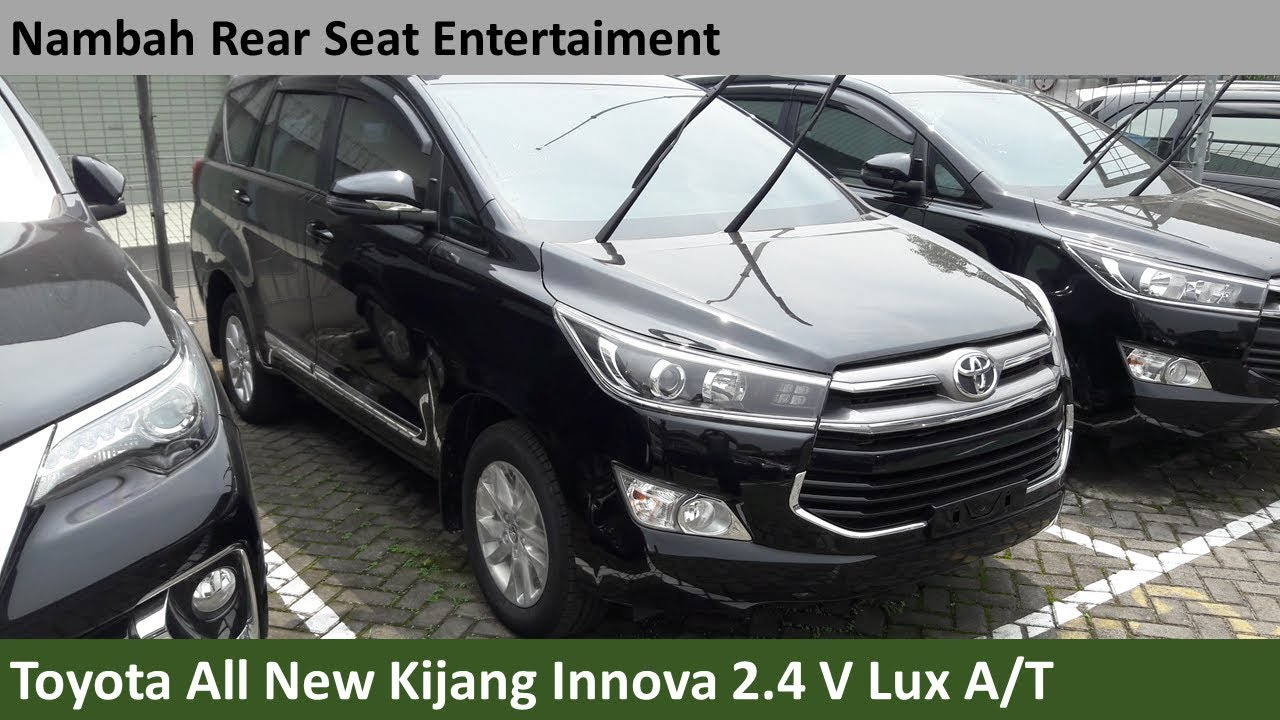 Toyota All New Kijang Innova 2 4 V Diesel A T Lux Review Indonesia Youtube