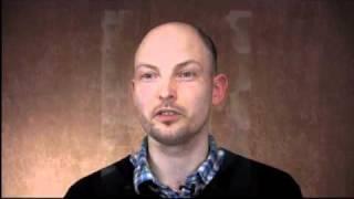 Thomas talks about translating his novel