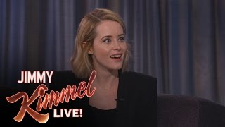 Repeat youtube video Claire Foy's Embarrassing Encounter with Kate Winslet