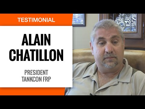 Incorporate a Business in the USA - Mr. Alain Chatillon, President of Tankcon FRP - Testimonial