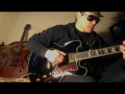"""""""Short Preview Vid On The Black Epiphone Sheraton ll Guitar"""" June 20, 2016 - Big Will"""