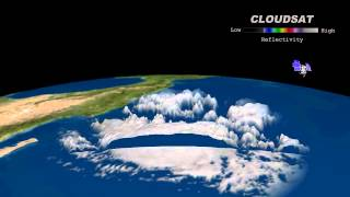Cloudsat Satellite Images of Amanda