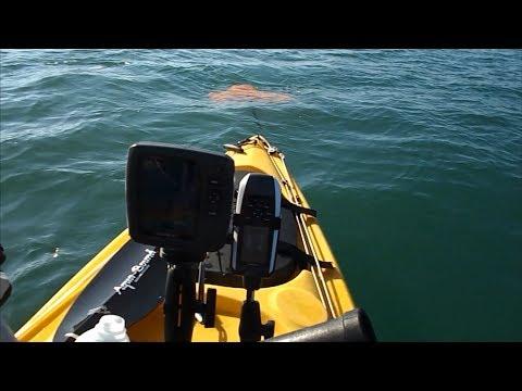 Using a Drift Chute when Drift Fishing from a Kayak
