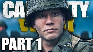 CALL OF DUTY WW2 Gameplay Walkthrough — Part 1   NORMANDY   Campaign Mission 1 COD World War 2 WWII