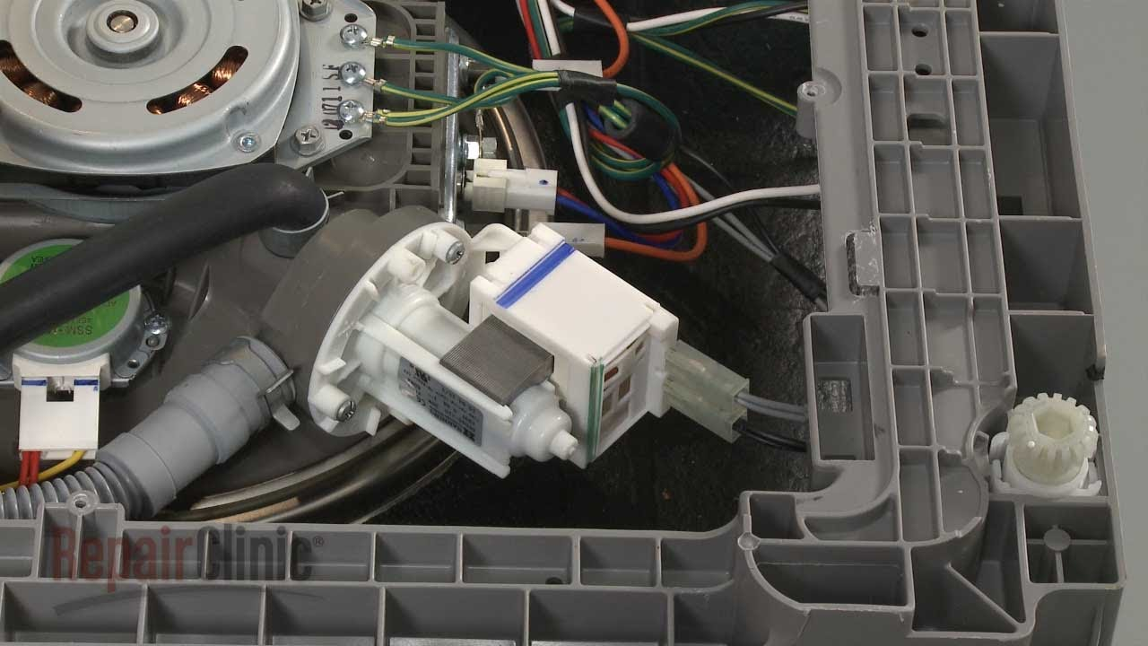 Dishwasher Won't Drain? Drain Pump Replacement