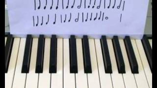 Music Rhythm Free Piano Lessons For Beginners (Quarter Note, Half Note, Whole Note) (Lesson 6)