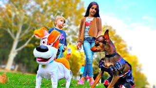 ВЛОГ! Макс и Принц Тайная жизнь домашних животных Для детей KIDS Children Леди Дана и Леди Диана