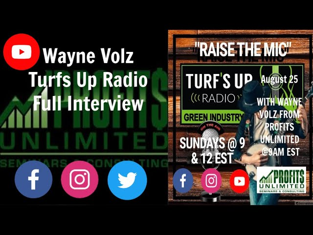 Turfs Up Radio Full Interview (Audio Only)