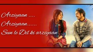 Arziyan Lyrics|Jigariya|new love song|Aishwarya Majmudar|Vikrant Bhartiya|Raj-Prakas March 7, 2020