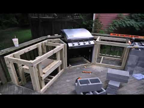 How To Build Wood Outdoor Kitchen Cabinets
