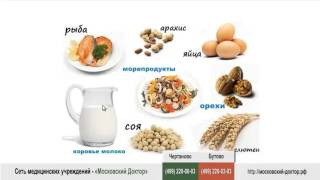 Аллергия на продукты питания