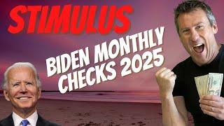 BIDEN CALLS FOR PERMANENT STIMULUS CHECKS! Child Tax Credit and 4th Stimulus Check Update  PUA SSI