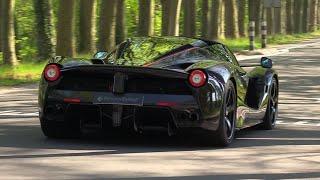 Supercars Accelerating - LaFerrari Aperta, Veyron, SVJ, Centenario,918 Spyder & MORE!
