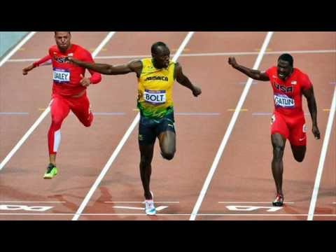 Usain Bolt Olympic Record 100M 9.63 @ London 2012 - YouTube