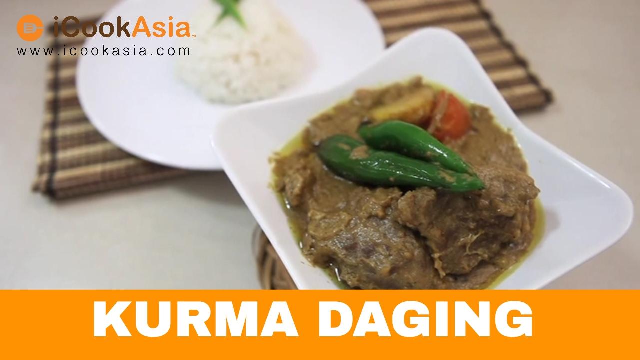 Chef Datuk Wan Kongsi Resepi Kurma Daging