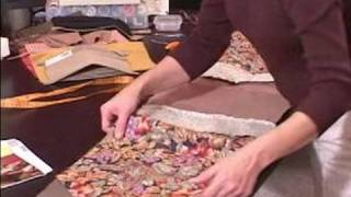 Ideas For Making A Tablecloth : Pinning Front & Back Pieces Together For Tablecloths
